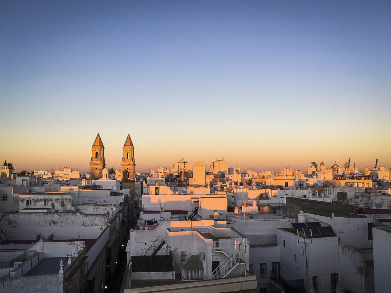 Cádiz and its special light